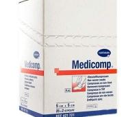 Comprese sterile Medicomp Extra, 5x5 cm, 25 bucăți, Hartmann