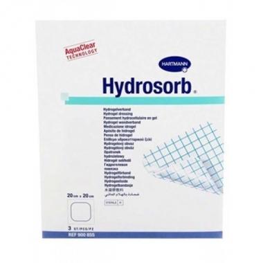 Hydrosorb - Pansament cu hidrogel 20x20cm 3buc