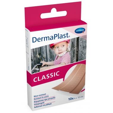 Dermaplast Plasture-Suport Textil 6x10cm * 10 buc