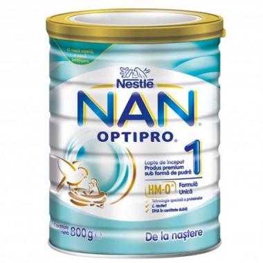 NESTLE NAN 1 OPTIPRO HM-O, 800 G