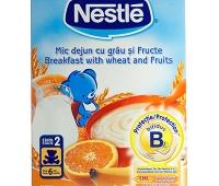Nestle Mic Dejun cu grau si fructe 250 gr