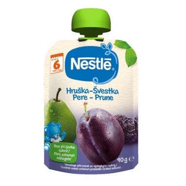 Nestle Piure prune pere de la 6 luni X 90 gr