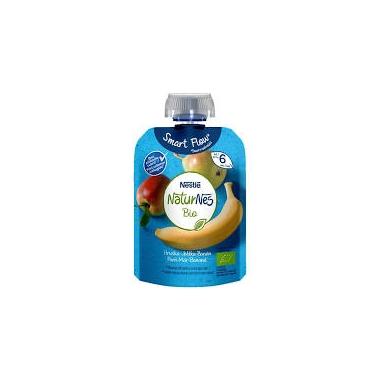 Piure Nestle NaturNes Bio PERE MERE BANANE de la 6 luni 90 gr