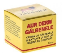 AUR D-CR CU GALBENELE 50ML,LAUR MED