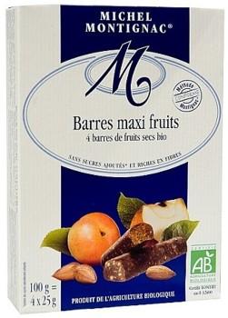 Batoane fructe 4X25 grame Montignac