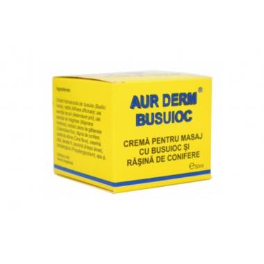 AUR D-CR.MASAJ BUSUIOC+RASINA 50ML LAUR MED