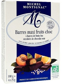 Batoane fructe cu ciocolata Montignac