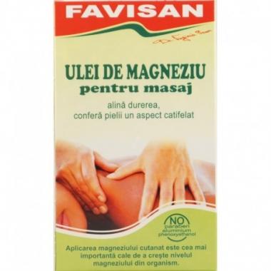 Ulei de magneziu pentru masaj, 125 ml, Favisan