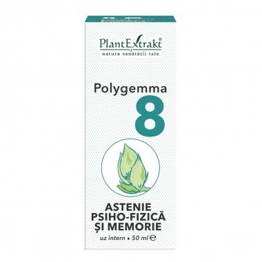 POLYGEMMA NR. 8 50ML(ASTENIE PSIHO-FIZICA/MEMORIE)
