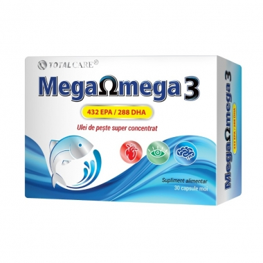 MEGAOMEGA 3 432EPA/288DHA 30CPS
