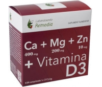 CA+MG+ZN +VITAMINA D3 120CPR