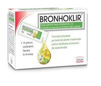 BRONHOKLIR SIROP TUSE PRODUCTIVA 15PLICURI