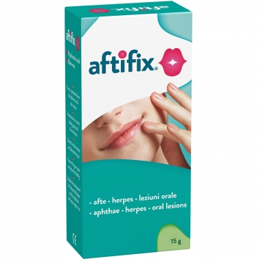 AFTIFIX GEL ORAL X 15 GR