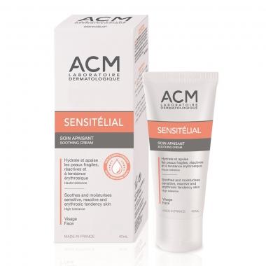 Cremă calmantă Sensitelial, 40 ml, Acm