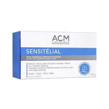 Săpun dermatologic Sensitelial, 100 g, Acm