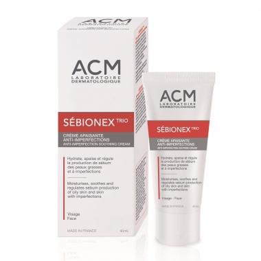 Sebionex Trio Crema Antiacnee, 40 ml, Acm