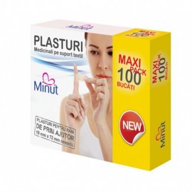 PLASTURI PRIM AJUTOR 19X72 100BUC