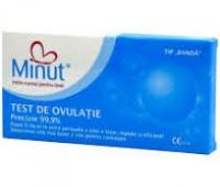 TEST OVULATIE MINUT-BANDA 5/CUT+TEST SARCINA PROMO