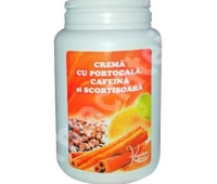 Crema cu portocale, cafeina si scortisoara, 1000 ML