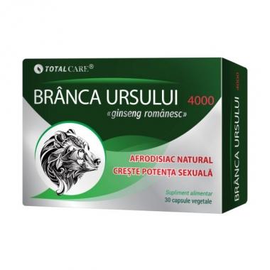 BRANCA URSULUI 4000MG 30CPS VEGETALE