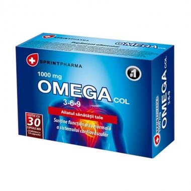 Omega col 3-6-9, 30 capsule, Sprint Pharma