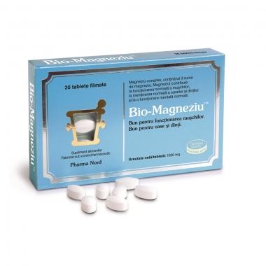 Bio-Magneziu, 30 tablete, Pharma Nord