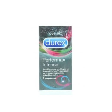 DUREX PERFORMAX INTENSE 6BUC