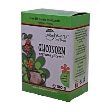 Ceai Gliconorm Natura Plant Poieni, 100g