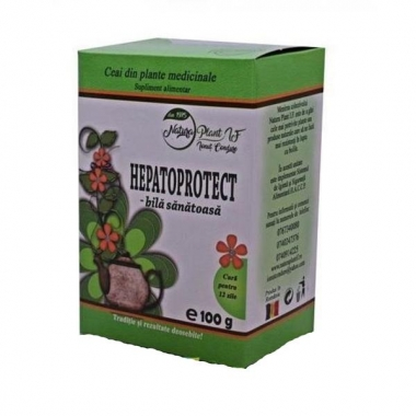 Ceai Hepatoprotect - Bila Sanatoasa Natura Plant Poieni, 100g