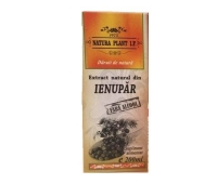 Extract Natural de Ienupar Fara Alcool Natura Plant Poieni, 200 ml