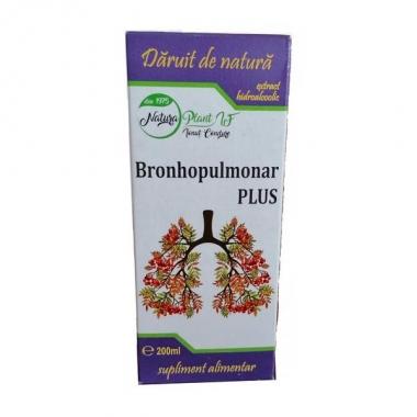EXTRACT BRONHOPULMONAR PLUS 200ML, Natura Plant Poienii