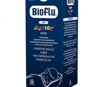 Bioflu Plus Junior sirop, 100 ml, Biofarm
