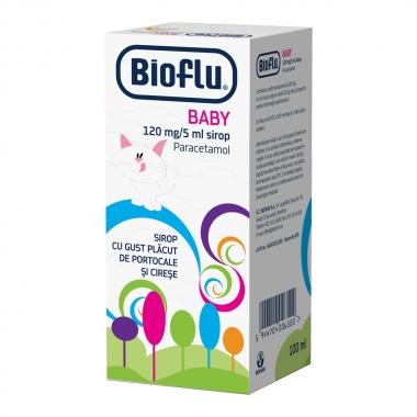 Bioflu pentru Baby 120 mg, 5 ml, Biofarm
