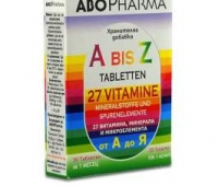 A-Z 27 VITAMINE+MINERALE SI MICROELEMENTE 30CPR