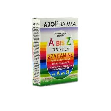 A-Z 27 VITAMINE+MINERALE SI MICROELEMENTE 30CPR