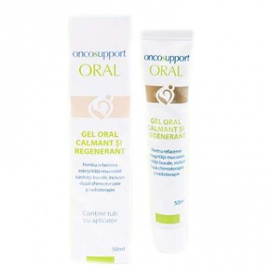 Gel oral calmant și regenerant, Oncosupport Oral, 50 ml, Onco Support Medical