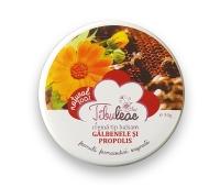 Cremă tip balsam gălbenele și propolis, 30 g, Tibuleac Plant