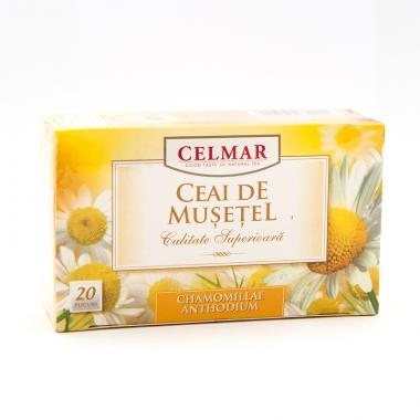 Celmar - Ceai de musetel, 20 plicuri x 1.5g