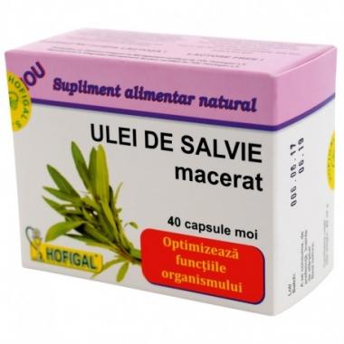ULEI DE SALVIE – ( 40 capsule moi)
