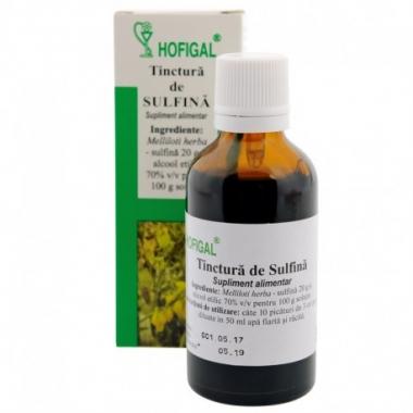 Tinctura de sulfina - 50 ml