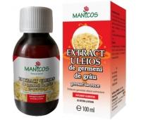 Manicos Extract uleios de germeni de grâu presat la rece, 100 ml