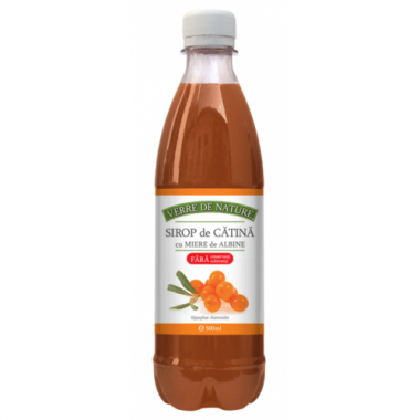 Sirop de Cătină cu Miere, 500 ml