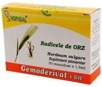 Radicele de Orz Gemoderivat, 30 monodoze