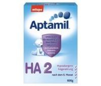 Milupa Aptamil HA2 - 600G-Lapte pentru Sugari cu Predispozitie la Alergii