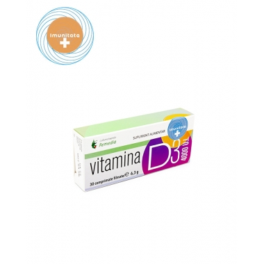 VITAMINA D3 4000 UI 100CPR