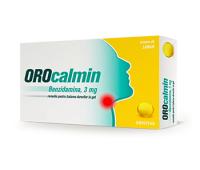 Orocalmin 3 mg cu aroma de portocale si miere, 20 pastile, Zentiva