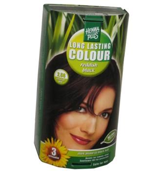 Henna Plus Long Lasting Colour- Vopsea de Par Nuanta 2.66