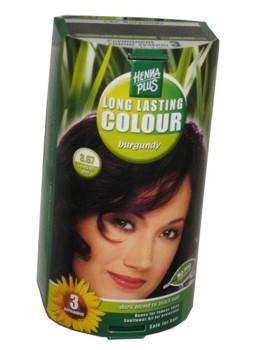Henna Plus Long Lasting Colour- Vopsea de Par Nuanta 3.67