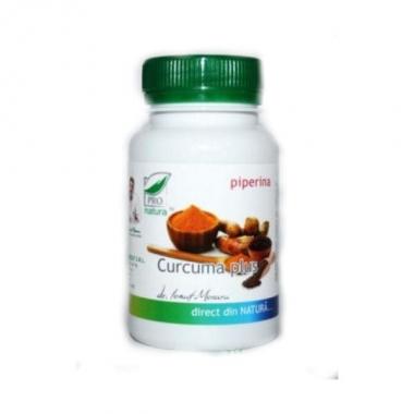Curcuma Plus Medica, 60 capsule