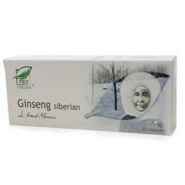 GINSENG SIBERIAN 30 CPS
